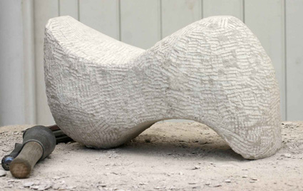 Abstract stone sculpture425