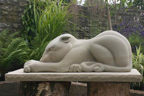 Beast sculpture