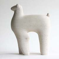 Camelid Sculpture