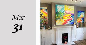 Colourful Coast Exhibition - Serena Hall Gallery
