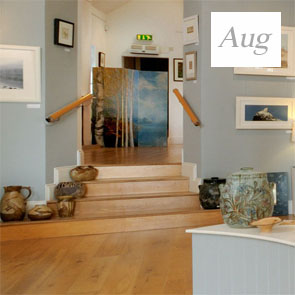 Exhibition at the White Fox Gallery, Coldstream