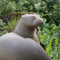 Otter Sculpture