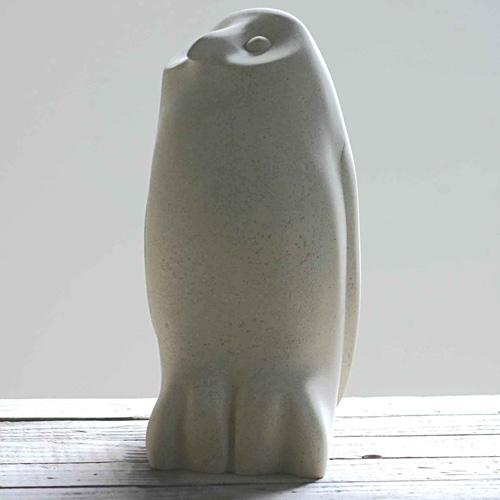Owl chick bird sculpture