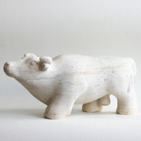 Ox sculpture