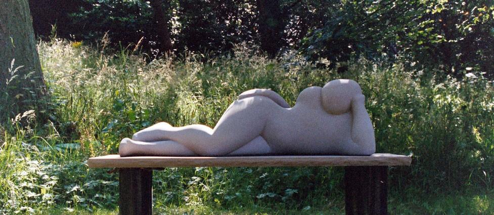 Reclining Figure sculpture