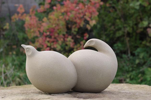 Two Birds sculpture