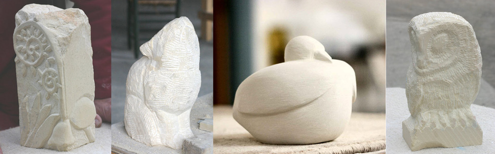 Sculpture made in my Stone Carving Course
