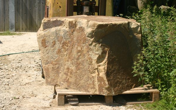Block of stone