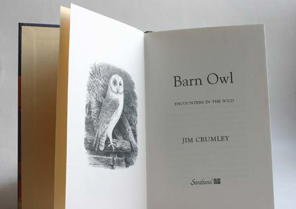 Barn Owl book by Jim Crumley