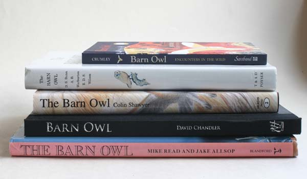 Books about Barn Owls