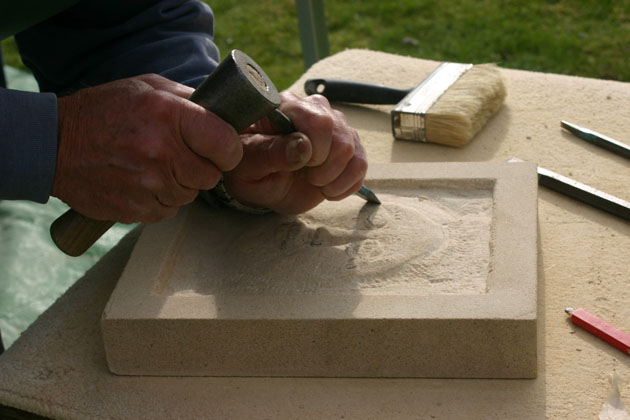 Stone carving courses north yorkshire