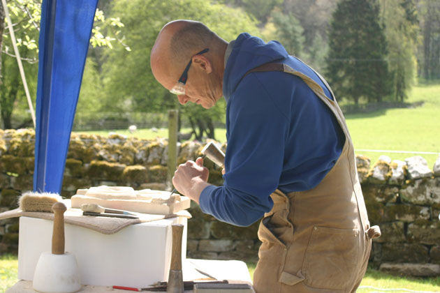 stone carving concentration