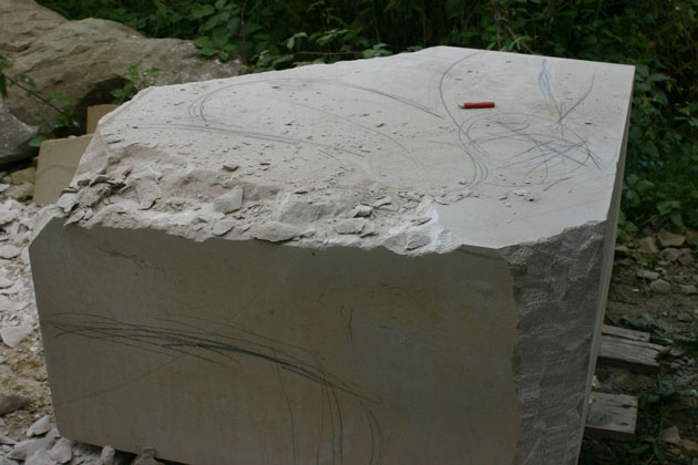 Carving the block
