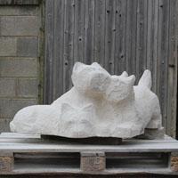 Westies carve 3