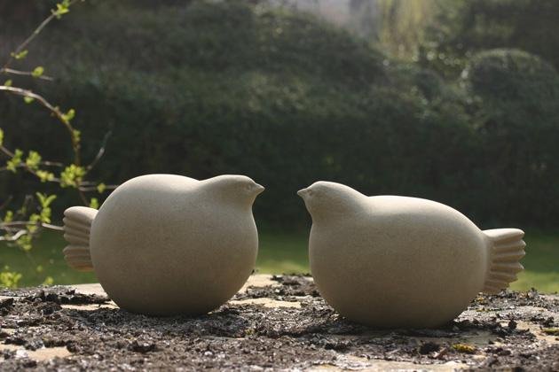 Bamboo Birds sculpture