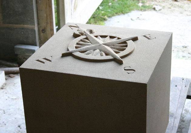 Compass Stone - Sandstone