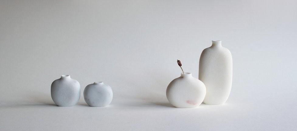 Pebble Vases (marble)
