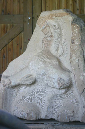 Carving Aurochs stage 4