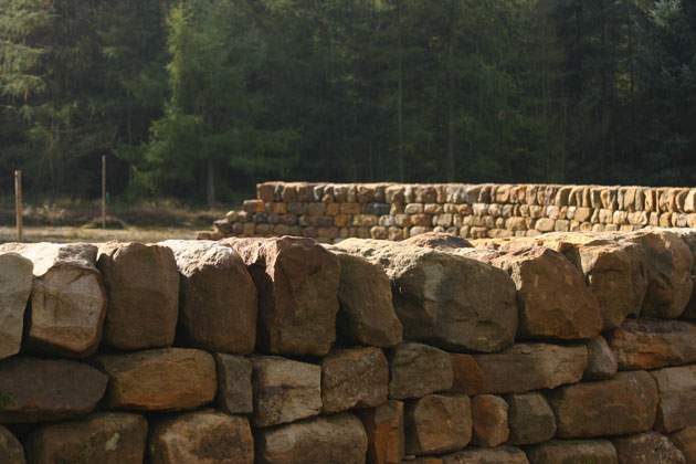 Dry Stone Wall Maze, Dalby Forest