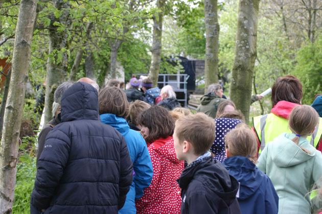 Guided tour of the Sculpture Trail