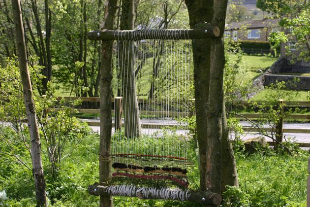 Natural Materials Weaving
