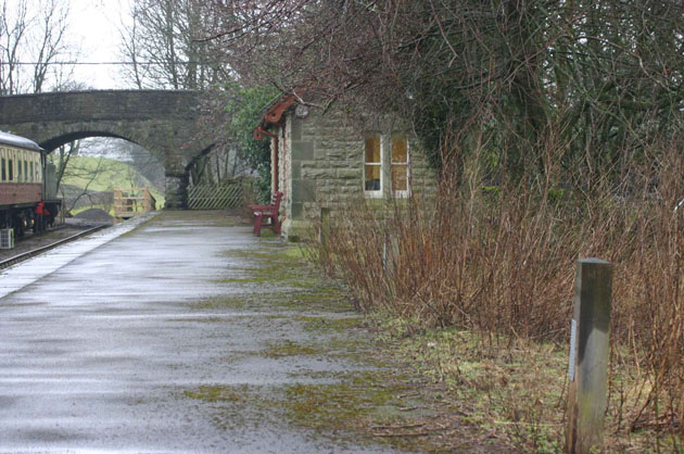 Sculpture Trail - the waiting room