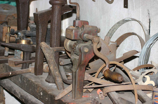 Tinsmith's tools