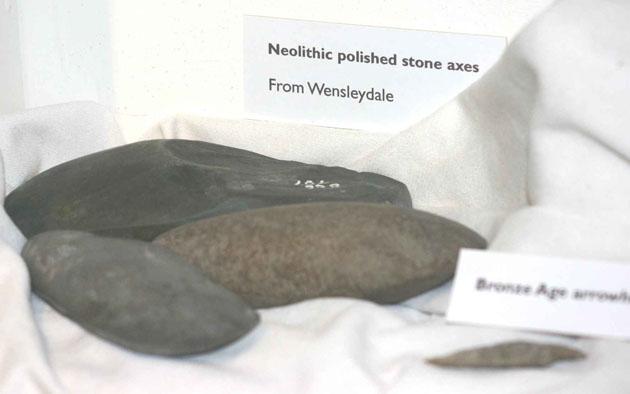 bronze age axe heads