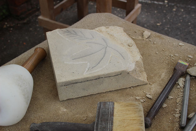 Amazing results at the stone carving workshop rural