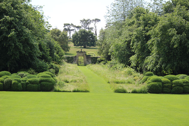 The garden at Nunnington Hall