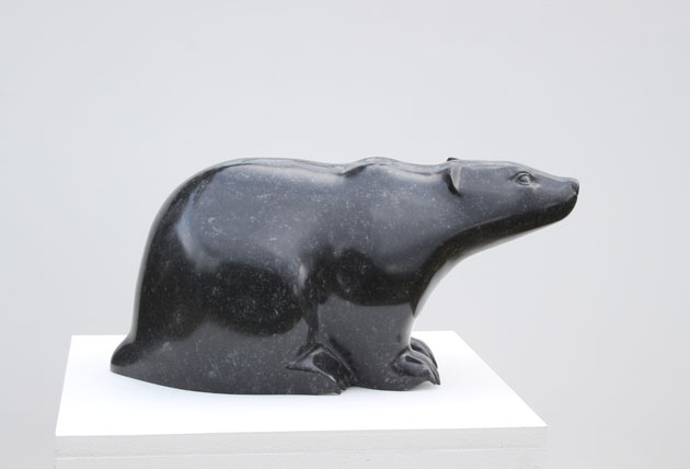 Badger sculpture by Jennifer Tetlow