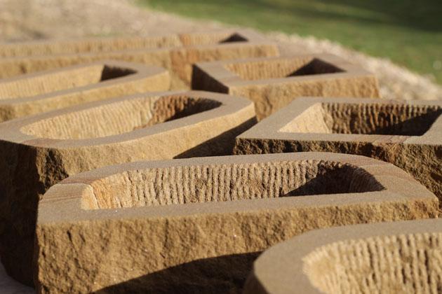 Stone plant pots