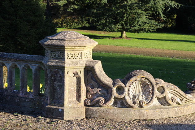 Beautiful stonework at Westonbirt School