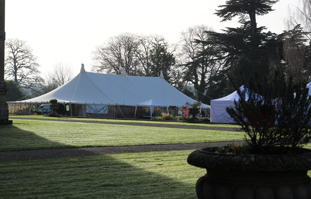 Gardens Illustrated Festival marquee
