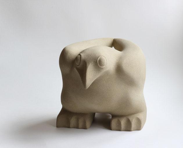 Ground Bird sculpture