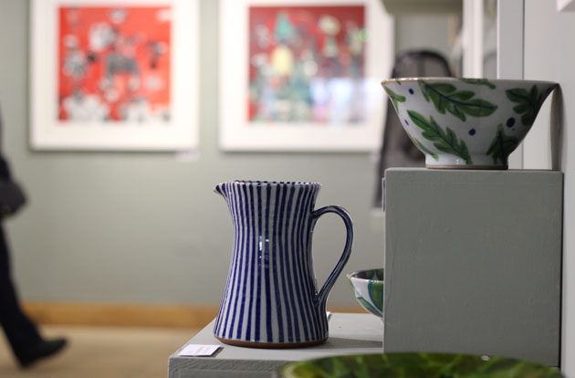 Sophie Hamilton Pottery at RyeScape Exhibition