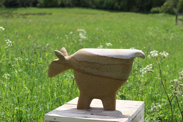 High Moor Goat sculpture