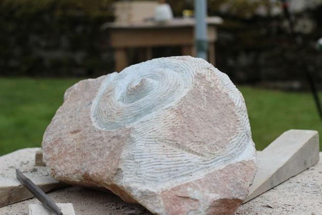 Spiral form emerging