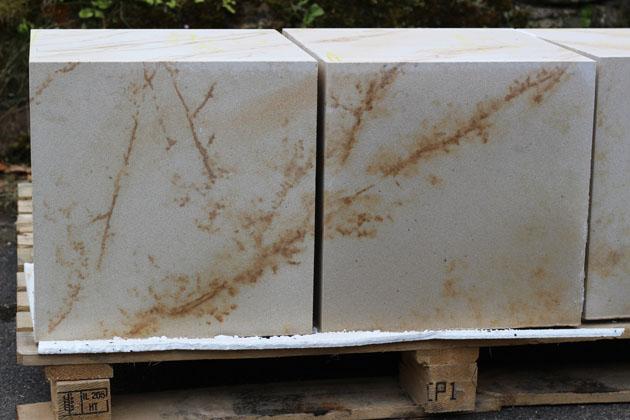 Blocks of Hazeldean Sandstone