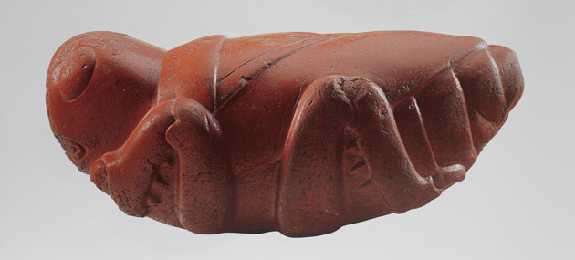 Aztec Grasshopper carved in Cornelian