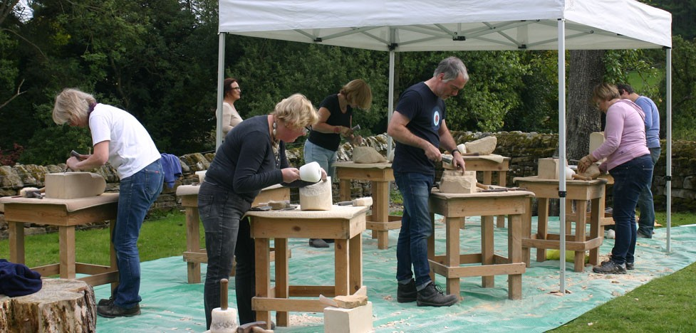 Stone Carving Course Autumn 2015