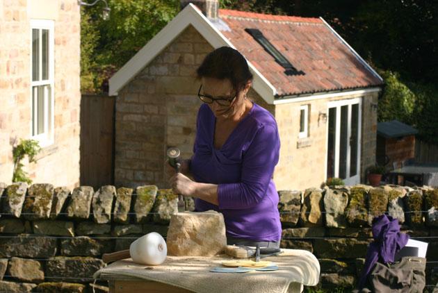 carving begins