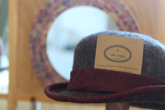 Ellie Langley hats at Crafted by Hand Masham