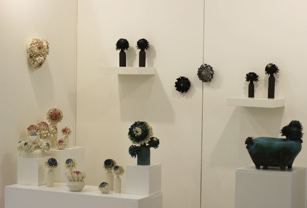Linda Southwell ceramics at Art& Show York