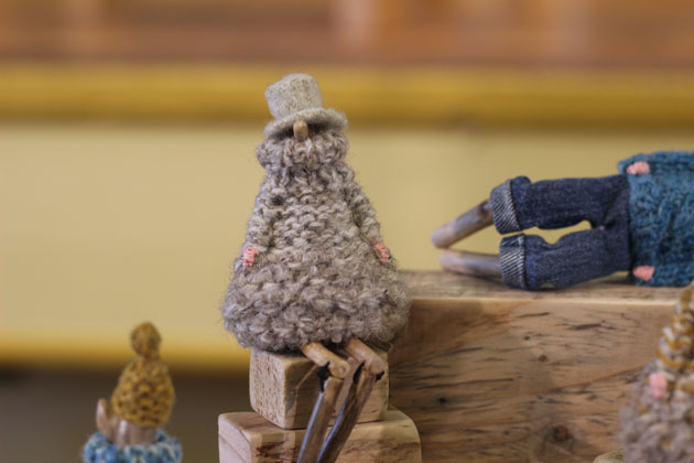 Liz Reed at Crafted by Hand Masham