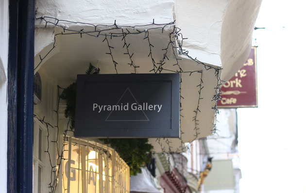 Pyramid Gallery in Stonegate, York