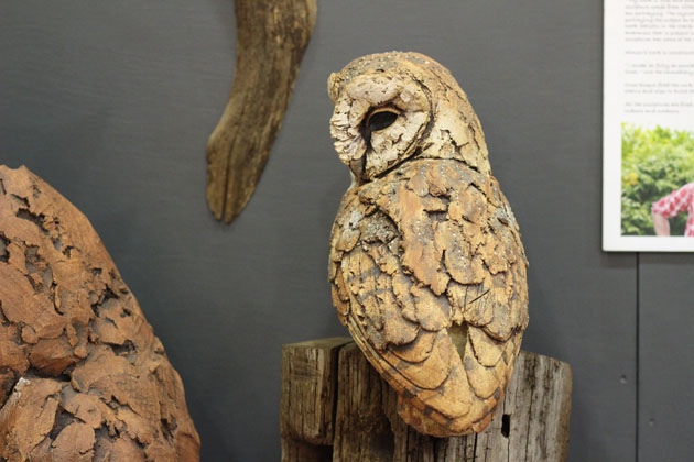 Simon Griffiths sculpture at Crafted by Hand Masham