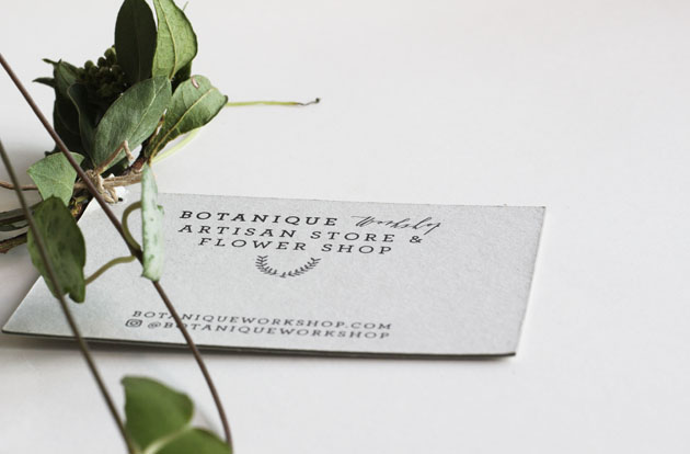 Botanique Workshop beautiful packaging