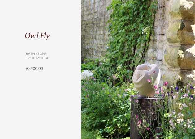 Sculpture Owl Fly