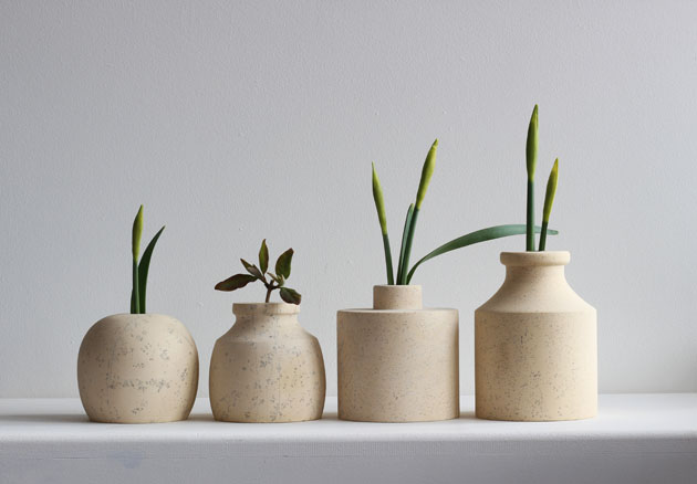 Stem vases for the freshest spring cuttings